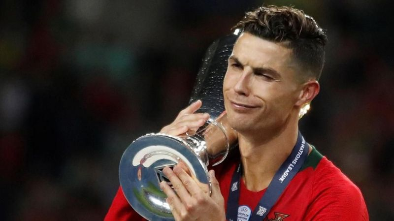 Cristiano Ronaldo has won two of the three finals he