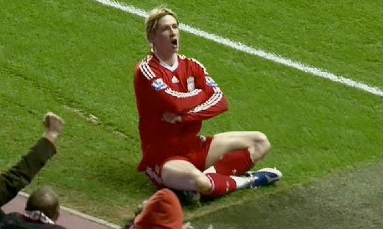 Late, but great from Torres.