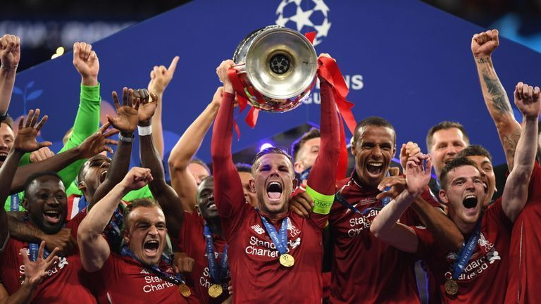 Liverpool clinched their sixth European honour on Sunday night