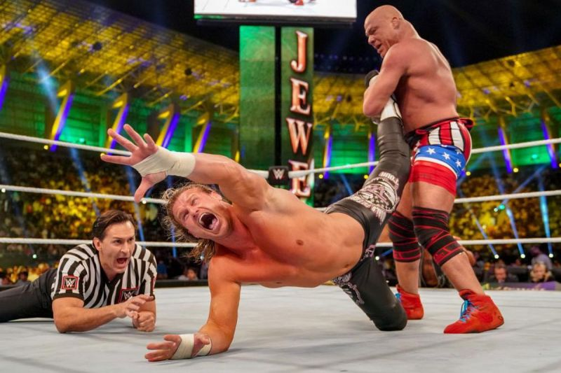 Kurt Angle appeared at the Greatest Royal Rumble and at Crown Jewel. Will he show tonight?