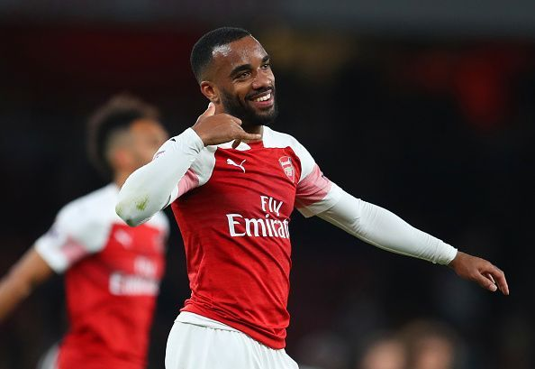 Alexandre Lacazette directly contributed to 32 goals this season