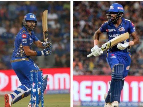 Yuvraj Singh and Hardik Pandya
