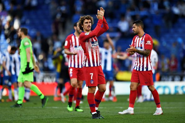 Griezmann is likely to leave Atletico in the summer