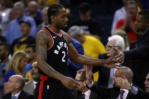 Kawhi Leonard has been excellent during the Toronto Raptors' run to the NBA Finals
