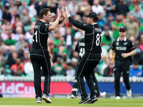 Matt Henry's 4-wicket haul gave New Zealand the momentum