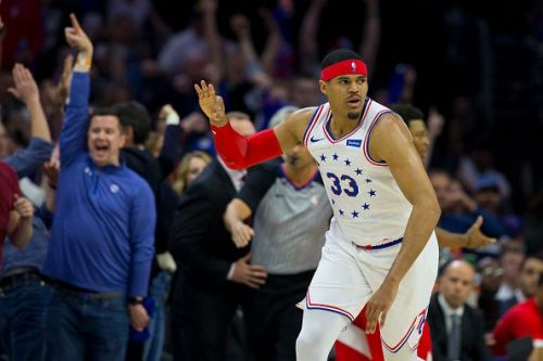 Tobias Harris struggled in his role as Philadelphia's fourth option