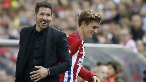 Simeone is set to use the money from the sale of Griezmann to fund a move for Joao Felix