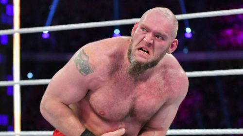 Lars Sullivan won his first official match on the main roster