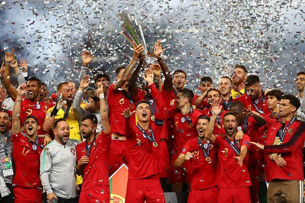 Portugal cruised past Netherlands in the final