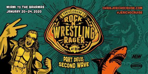 Poster for Chris Jericho's Rock n' Wrestling Rager Part Deux: Second Wave event.