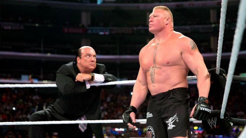 Brock Lesnar is still in WWE
