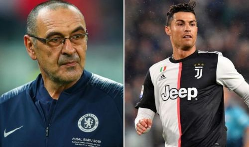Maurizio Sarri caught up with Ronaldo in the South of France to discuss their future together.