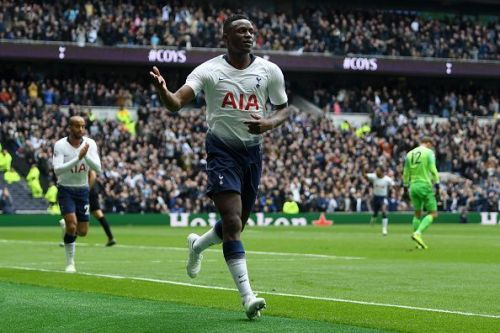 Victor Wanyama has been a bit-part player this season at Tottenham