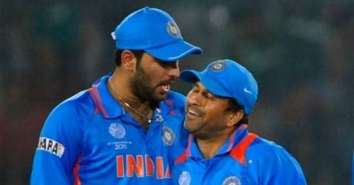 The two greats of Indian Cricket