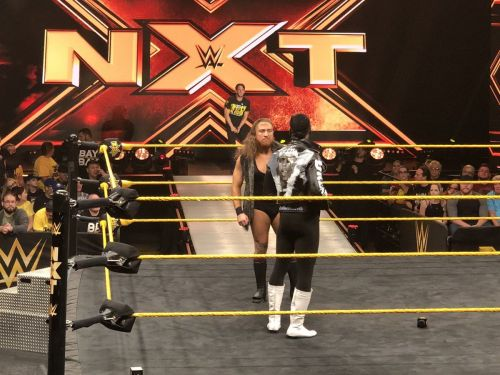 Dunne made his return to NXT as part of last night's tapings