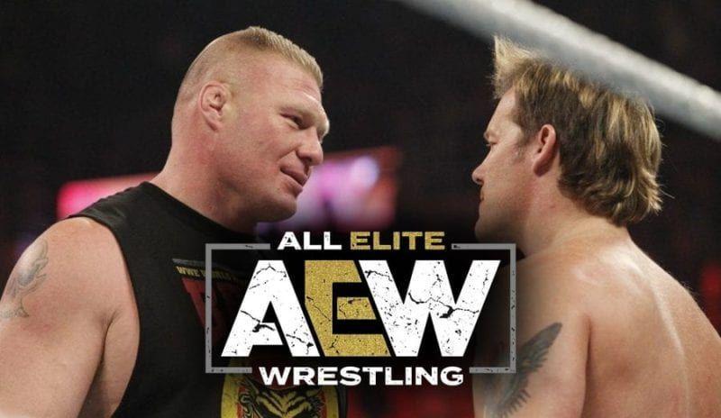 Brock Lesnar vs Chris Jericho, in AEW?
