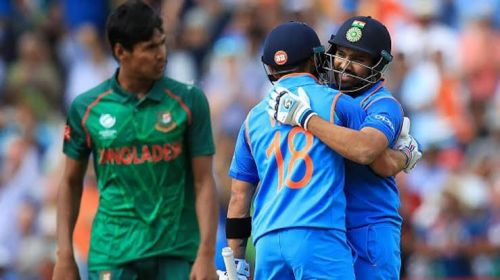 Rohit Sharma played a masterful knock of 123*