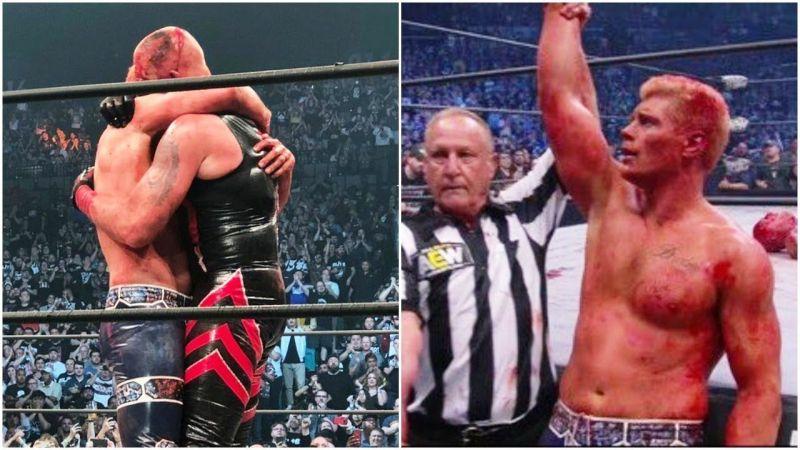 कोडी रोड्स ने AEW इवेंट में अपने भाई को हराया