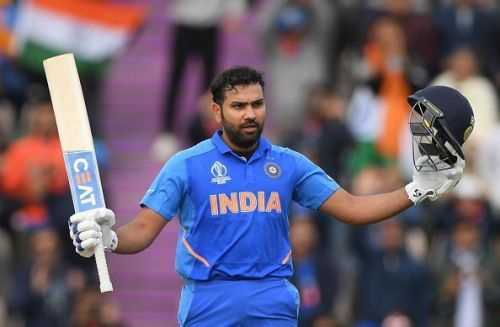 Rohit Sharma's century was the highlight of India's chase