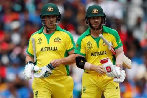 David Warner & Aaron finch