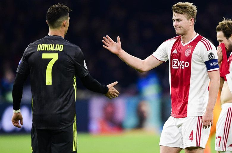 A de Ligt- Cristiano Ronaldo union in Turin this summer is very much possible.