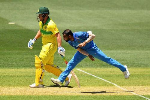 मोहम्मद शमी: ऑस्ट्रेलिया बनाम भारत, वनडे मैच- 2