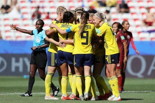 Sweden v Thailand: Group F - 2019 FIFA Women's World Cup France