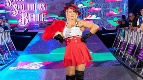 Lacey Evans has been a title challenger right off the bat