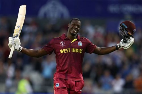 Carlos Brathwaite struck a hundred against New Zealand
