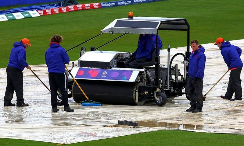 Three games have already been washed out at this world cup.