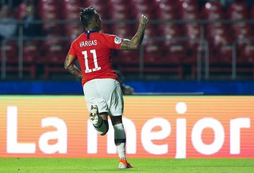 Vargas now has 13 goals in the Copa America.