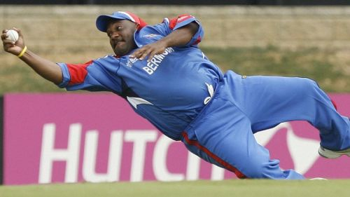 Bermuda's Dwayne Levercock will forever be remembered for his catch against India
