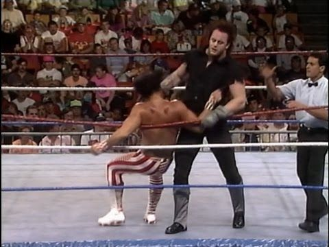 Undertaker and Randy Savage only clash