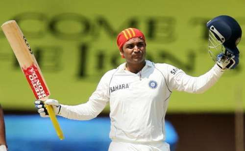 Sehwag is still the only Indian to have scored a triple century in Tests.