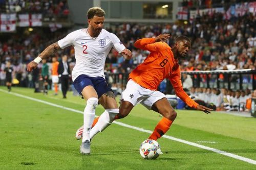 Kyle Walker is currently England's first choice right back