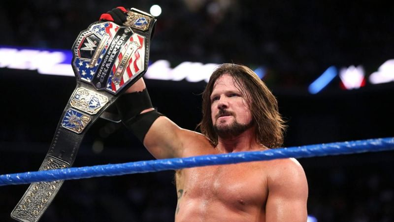 AJ Styles is a former US Champion