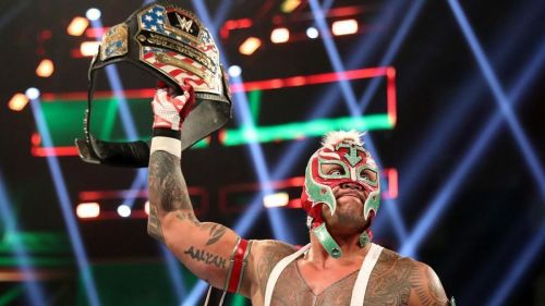 Mysterio has been ordered to vacate the US Title due to injuries.