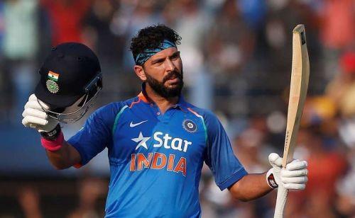 युवराज सिंह अपने करियर की सर्वश्रेष्ठ पारी खेलने के बाद