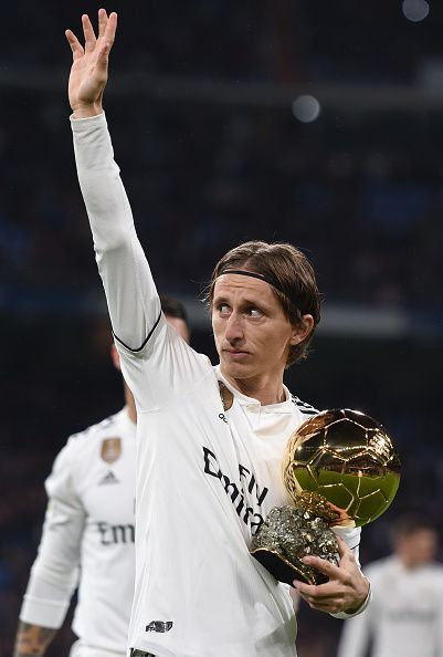 Luka Modric won the Ballon d'Or but had a season to forget