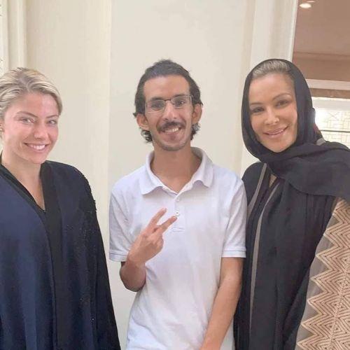 Alexa Bliss and Natalya are in Saudi Arabia!