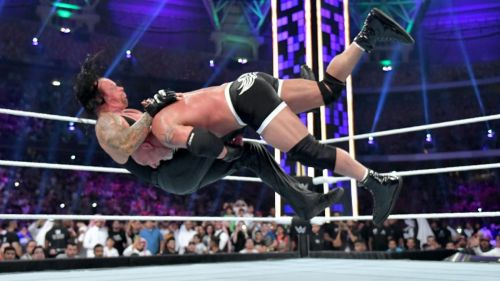 Witnessing Goldberg and The Undertaker facing off against each other was absolutely electrifying