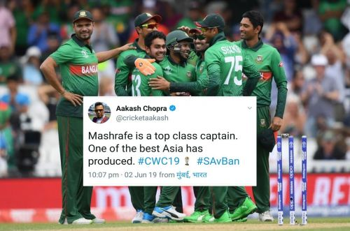 Bangladesh recorded a historic win against South Afr