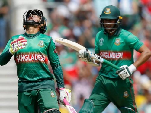 Shakib and Rahim's 142-run stand made the difference