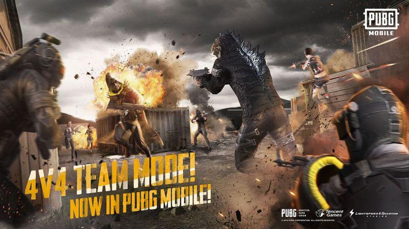 PUBG MOBILE TEAM DEATH MATCH