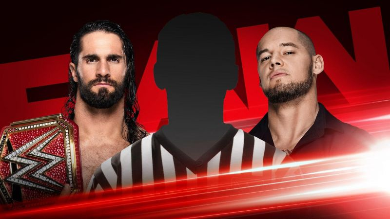 Baron Corbin will announce the special guest referee