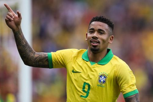 Manchester City's Gabriel Jesus shone with a brilliant brace