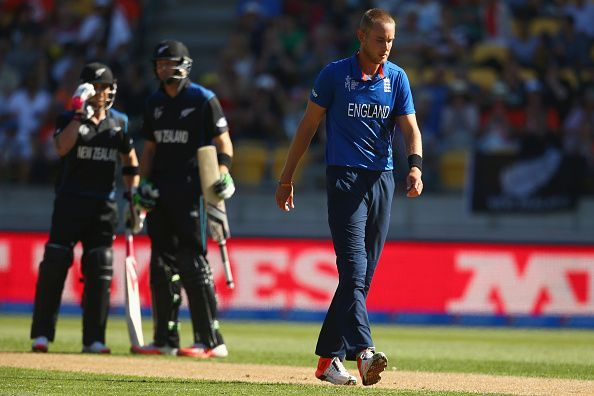 England v New Zealand - 2015 ICC Cricket World Cup