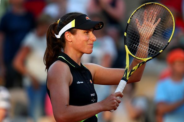 Johanna Konta has played some of her best tennis during the clay court season this year.