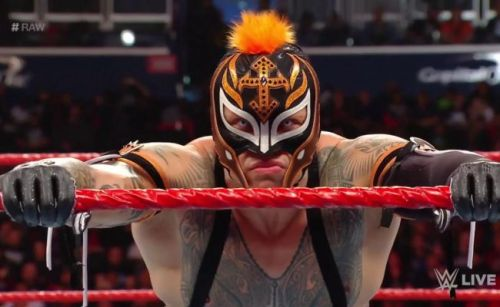 Rey Mysterio has been performing a move that was reportedly banned in WWE