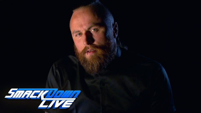 Aleister Black has rarely been used since joining the main roster earlier this year
